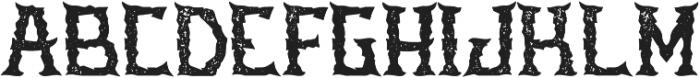 Stone Aged otf (400) Font UPPERCASE