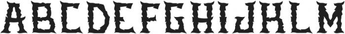 Stone Regular otf (400) Font UPPERCASE