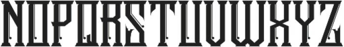 Stonebangs Typeface otf (400) Font UPPERCASE