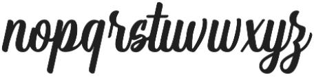 Storing otf (400) Font LOWERCASE