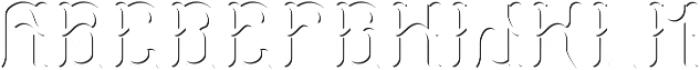 StormFont LightFX otf (300) Font LOWERCASE