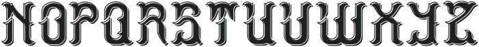 StormFont LightShadow otf (300) Font UPPERCASE