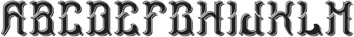 StormFont LightShadow otf (300) Font LOWERCASE