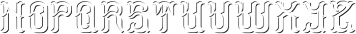 StormFont LightShadowFX otf (300) Font LOWERCASE