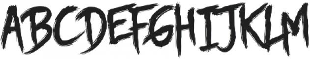 Story Brush otf (400) Font UPPERCASE