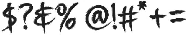 Story Brush webfont Font OTHER CHARS