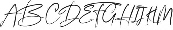 Story Fresh BrushNormal otf (400) Font UPPERCASE