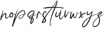 Story Fresh BrushNormal otf (400) Font LOWERCASE