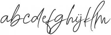 Story Fresh Brushlight otf (300) Font LOWERCASE