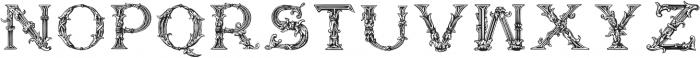 Storyteller Renaissance Caps Regular otf (400) Font UPPERCASE