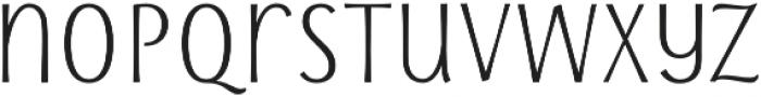 Storyteller Sans Cd SemiBold otf (600) Font LOWERCASE