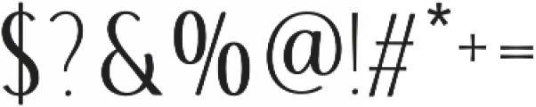 Storyteller Sans ExCd Contrast otf (400) Font OTHER CHARS