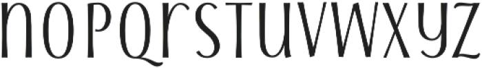 Storyteller Sans ExCd Contrast otf (400) Font LOWERCASE