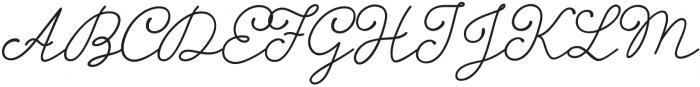 Storyteller Script Bold Casual otf (700) Font UPPERCASE