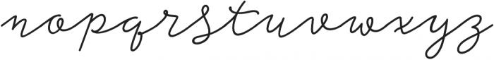 Storyteller Script Bold Casual otf (700) Font LOWERCASE