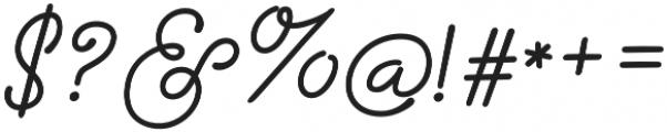 Storyteller Script Bold otf (700) Font OTHER CHARS