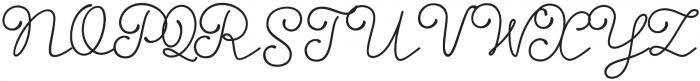 Storyteller Script Bold otf (700) Font UPPERCASE