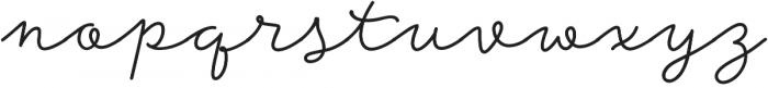Storyteller Script Bold otf (700) Font LOWERCASE