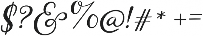 Storyteller Script Casual otf (400) Font OTHER CHARS