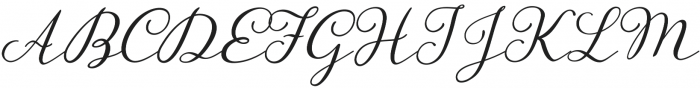 Storyteller Script Casual otf (400) Font UPPERCASE