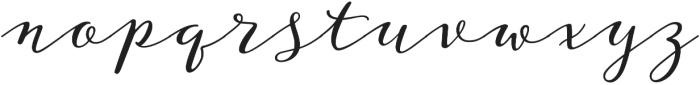 Storyteller Script Casual otf (400) Font LOWERCASE