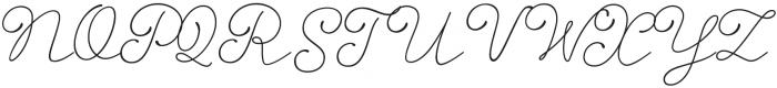 Storyteller Script Light Casual otf (300) Font UPPERCASE