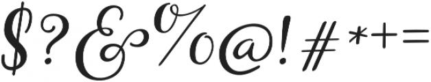 Storyteller Script otf (400) Font OTHER CHARS