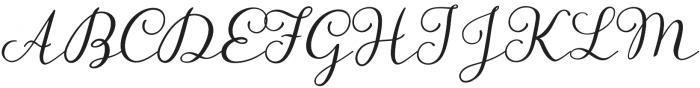 Storyteller Script otf (400) Font UPPERCASE