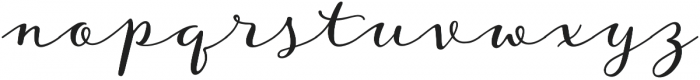 Storyteller Script otf (400) Font LOWERCASE