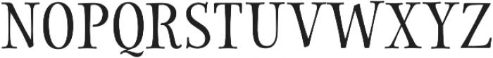 Storyteller Serif Contrast otf (400) Font UPPERCASE