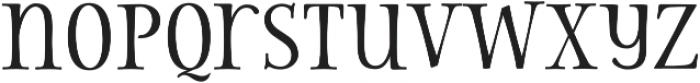 Storyteller Serif Contrast otf (400) Font LOWERCASE