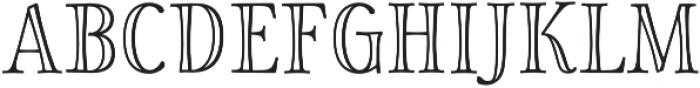Storyteller Serif Engraved otf (400) Font UPPERCASE