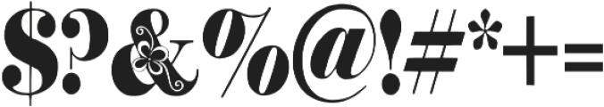 Storyteller otf (400) Font OTHER CHARS