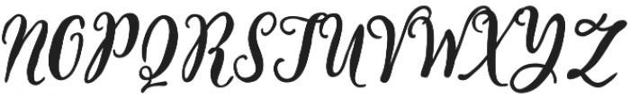 Storywells otf (400) Font UPPERCASE