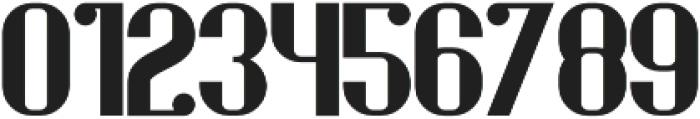 Stout Regular otf (400) Font OTHER CHARS