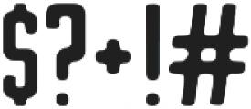 Stout otf (400) Font OTHER CHARS