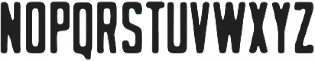 Stout otf (400) Font LOWERCASE