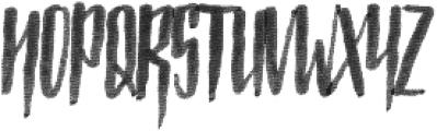 Strained otf (400) Font UPPERCASE