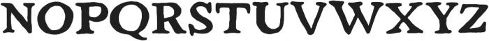 Strange Times Bold otf (700) Font UPPERCASE