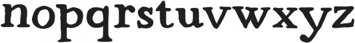Strange Times Bold otf (700) Font LOWERCASE