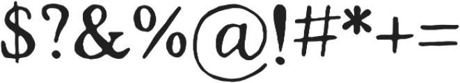 Strange Times Regular otf (400) Font OTHER CHARS