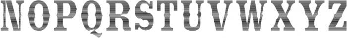 StrangeCosmos otf (400) Font UPPERCASE