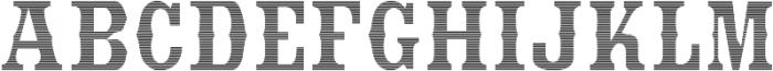StrangeCosmos otf (400) Font LOWERCASE