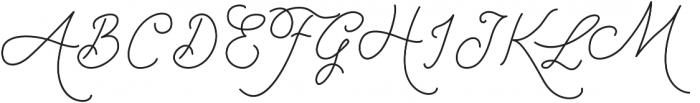 Strangelove Pen otf (400) Font UPPERCASE