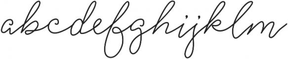 Strangelove Pen otf (400) Font LOWERCASE