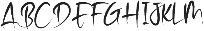 Stranger otf (400) Font UPPERCASE