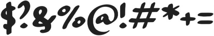 Strangeways  Bold otf (700) Font OTHER CHARS