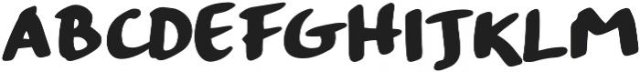 Strangeways  Bold otf (700) Font UPPERCASE