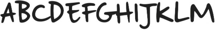 Strangeways  Regular otf (400) Font UPPERCASE