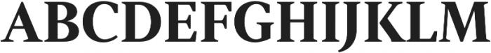 Strato Pro otf (700) Font UPPERCASE